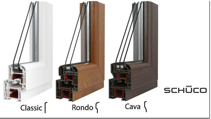 Schüco kunststofffenster farben  Fenster & Haustüren